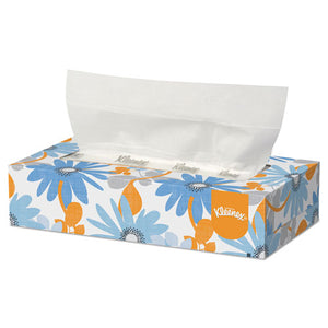 ESKCC03076 - White Facial Tissue, 2-Ply, 125-box, 12-carton