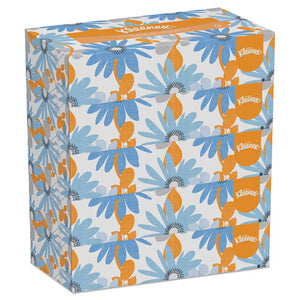 ESKCC21005 - White Facial Tissue, 2-Ply, 100 Tissues-box, 5 Boxes-pack, 6 Packs-carton