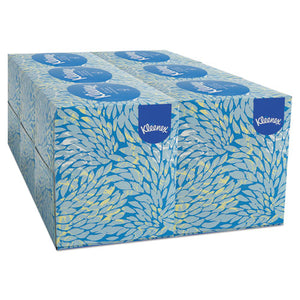 ESKCC21271 - BOUTIQUE WHITE FACIAL TISSUE, 2-PLY, POP-UP BOX, 95-BOX, 6 BOXES-PACK