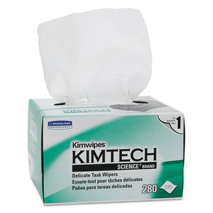 ESKCC34155CT - Kimwipes, Delicate Task Wipers, 1-Ply, 4 2-5 X 8 2-5, 280-box,16800-ct