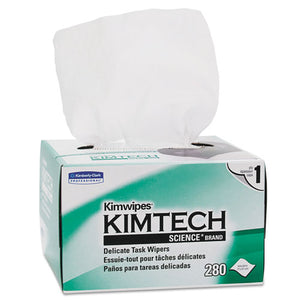 ESKCC34155 - Kimwipes, Delicate Task Wipers, 1-Ply, 4 2-5 X 8 2-5, 280-box