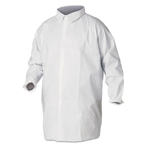 ESKCC44445 - A40 Liquid And Particle Protection Lab Coats, 2x-Large, White, 30-carton