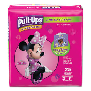 ESKCC45132 - PULL-UPS LEARNING DESIGNS POTTY TRAINING PANTS FOR GIRLS, SIZE 2T-3T, 25-PACK