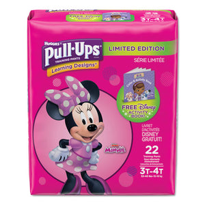 ESKCC45140 - PULL-UPS LEARNING DESIGNS POTTY TRAINING PANTS FOR GIRLS, SIZE 3T-4T, 22-PACK