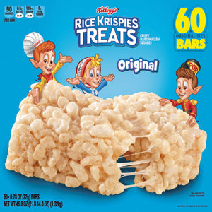 ESKEB17120 - Rice Krispies Treats, Original Marshmallow, 0.78oz Pack, 60 Per Carton