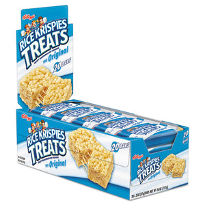 ESKEB26547 - Rice Krispies Treats, Original Marshmallow, 1.3oz Snack Pack, 20-box
