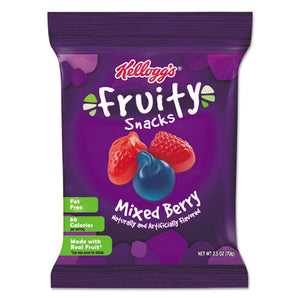 ESKEB29665 - Fruity Snacks, Mixed Berry, 2.5oz Bag, 48-carton