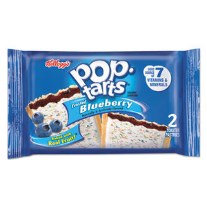 ESKEB31031 - Pop Tarts, Frosted Blueberry, 3.67oz, 2-pack, 6 Packs-box