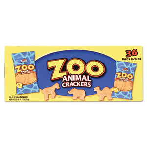 ESKEB827545 - Zoo Animal Crackers, Original, 2 Oz Pack, 36 Packs-box
