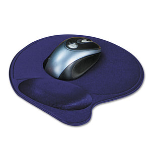 ESKMW57803 - Wrist Pillow Extra-Cushioned Mouse Pad, Nonskid Base, 8 X 11, Blue