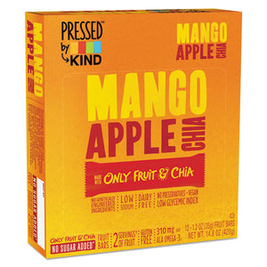 ESKND24063 - Pressed By Kind Bars, Mango Apple Chia, 1.2 Oz Bar, 12-box