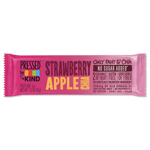 ESKND24842 - Pressed By Kind Bars, Strawberry Apple Chia, 1.2 Oz Bar, 12-box