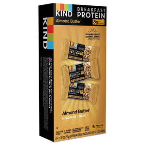 ESKND25953 - Breakfast Protein Bars, Almond Butter, 50 G Box, 8-pack