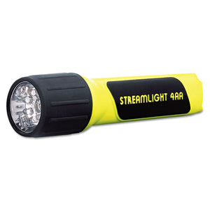ESLGT68202 - Propolymer Led Flashlight, 4aa (included), Yellow-black