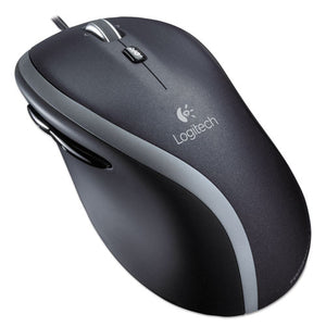 ESLOG910001204 - M500 Corded Mouse, Three-Button-scroll, Black-silver