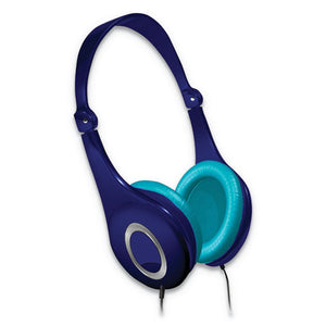 ESMAX199720 - SAFE SOUNDZ VOLUME LIMITING NOISE CANCELLATION HEADPHONE, BLUE