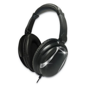 ESMAX199840 - BASS 13 HEADPHONE WITH MIC, BLACK