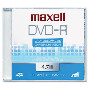 ESMAX638000 - Dvd-R Disc, 4.7gb, 16x