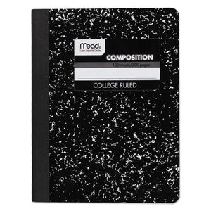 ESMEA09932 - Composition Book, College Rule, 9 3-4 X 7 1-2, White, 100 Sheets