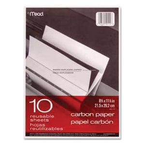 ESMEA40114 - Carbon Paper, Mill Finish, 8 1-2 X 11, 10 Sheets