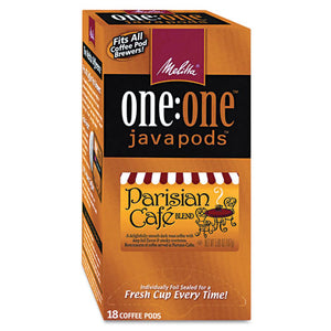 ESMLA75424 - One:one Coffee Pods, Parisian Cafe, 18 Pods-box