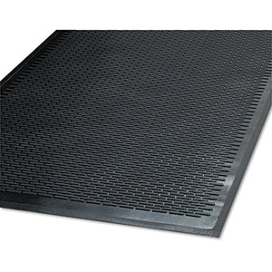 ESMLL14040600 - Clean Step Outdoor Rubber Scraper Mat, Polypropylene, 48 X 72, Black