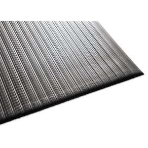 ESMLL24030502 - Air Step Antifatigue Mat, Polypropylene, 36 X 60, Black