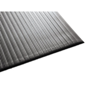 ESMLL24031202 - Air Step Antifatigue Mat, Polypropylene, 36 X 144, Black