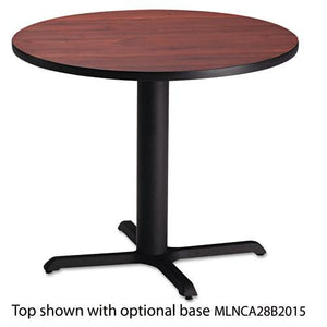 "ESMLNCA30RTRMH - Bistro Series 30"" Round Laminate Table Top, Mahogany"