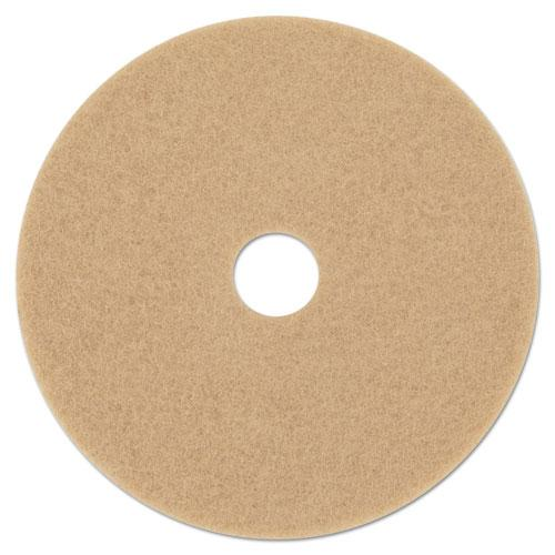 "ESMMM05606 - Ultra High-Speed Floor Burnishing Pads 3400, 20"" Diameter, Tan, 5-carton"
