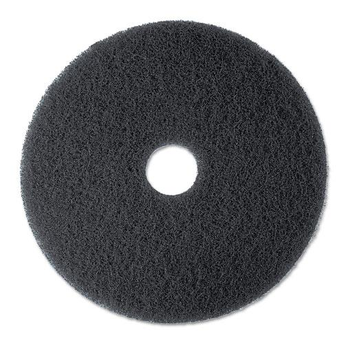 "ESMMM08375 - Low-Speed Stripper Floor Pad 7200, 13"" Diameter, Black, 5-carton"