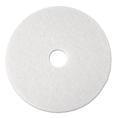 "ESMMM08477 - Super Polish Floor Pad 4100, 13"" Diameter, White, 5-carton"