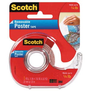 "ESMMM109 - Wallsaver Removable Poster Tape, Double-Sided, 3-4"" X 150"" W-dispenser"
