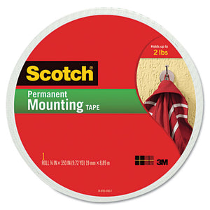 "ESMMM110LONG - Foam Mounting Double-Sided Tape, 3-4"" Wide X 350"" Long"