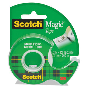 "ESMMM119 - Magic Tape In Handheld Dispenser, 1-2"" X 800"", 1"" Core, Clear"