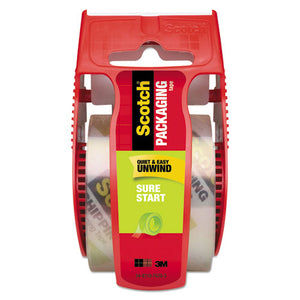 "ESMMM145 - Sure Start Packaging Tape, 1.88"" X 800"", 1 1-2"" Core, Clear"