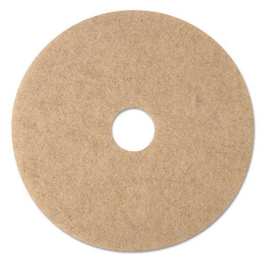 "ESMMM19008 - Ultra High-Speed Natural Blend Floor Burnishing Pads 3500, 20"" Dia., Tan, 5-ct"