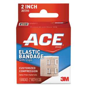 "ESMMM207310 - Elastic Bandage With E-Z Clips, 2"" X 50"""
