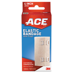 "ESMMM207313 - Elastic Bandage With E-Z Clips, 4"" X 64"""