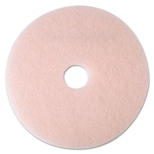 "ESMMM25861 - Ultra High-Speed Eraser Floor Burnishing Pad 3600, 24"" Diameter, Pink, 5-carton"