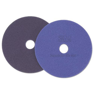 "ESMMM47951 - Diamond Floor Pads, 17"" Diameter, Purple, 5-carton"