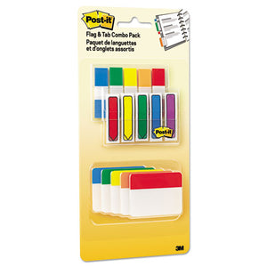 ESMMM686XLP - Flags And Tabs Combo Pack, Assorted Primary Colors, 230-pack