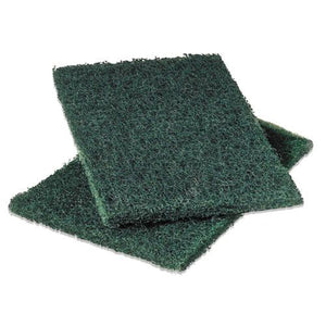 ESMMM86 - Commercial Heavy-Duty Scouring Pad, Green, 6 X 9, 12-pack
