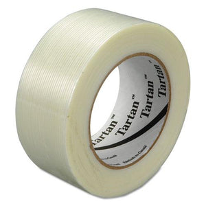 "ESMMM893448 - Filament Tape, 48 Mm X 55 M, 3"" Core, Clear, 24-carton"