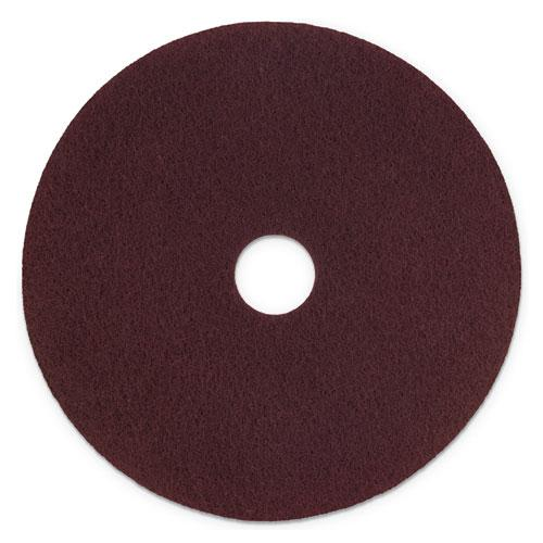 "ESMMMSPPP17 - SURFACE PREPARATION PAD PLUS, 17"" DIAMETER, MAROON, 5-CARTON"