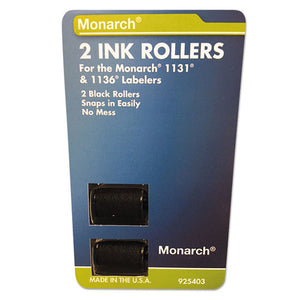 ESMNK925403 - 925403 Replacement Ink Rollers, Black, 2-pack