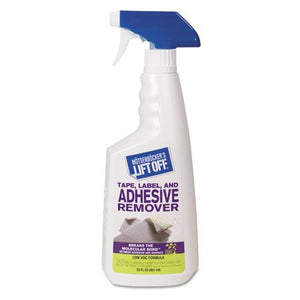 ESMOT40701CT - TAPE, LABEL AND ADHESIVE REMOVER, 22OZ TRIGGER SPRAY, 6.CARTON