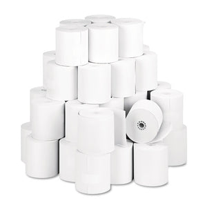 "Thermal Paper Rolls, 3.13"" X 230 Ft, White, 50-carton"