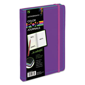 ESNEE98835 - Colorpop Journal, College Ruled, 8 1-4 X 5 1-8, Purple, 240 Sheets