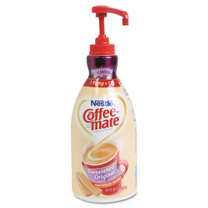 ESNES13799 - Liquid Coffee Creamer, Sweetened Original, 1500ml Pump Dispenser